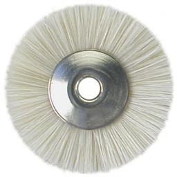 Brosses miniatures blanc 19mm (12)